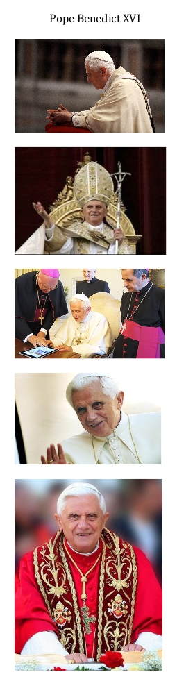Pope Benedict XVI_collage